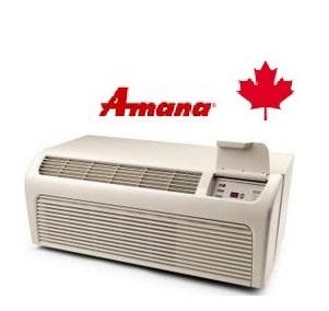 Amana PTH073G35AXXX 7,000 btu Cooling PTAC Unit with 6800 btu Heating and optional Digi Smart Sensor