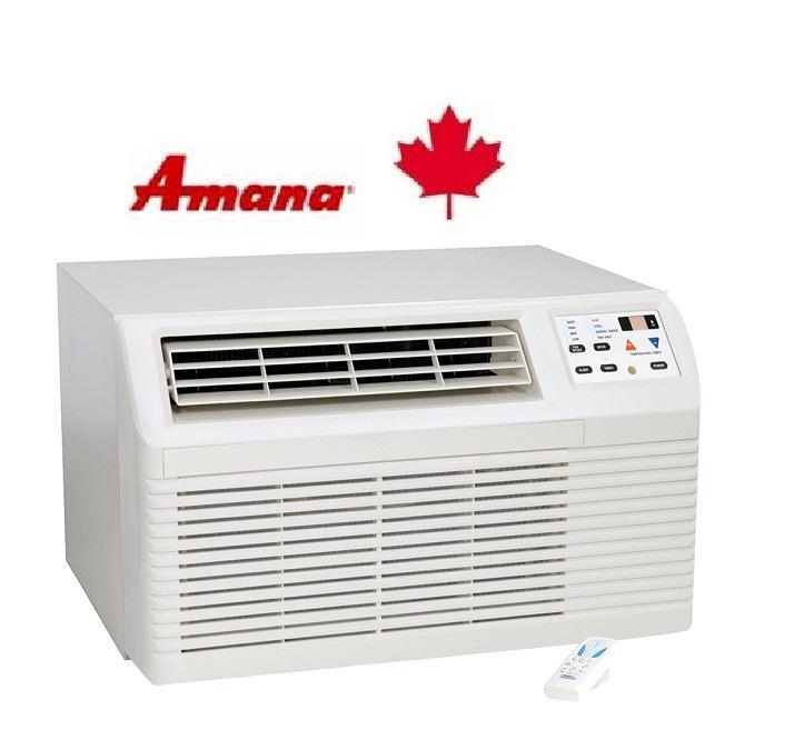 Amana PBC093E00BX Wall Air Conditioner 9,200/8,900 btu
