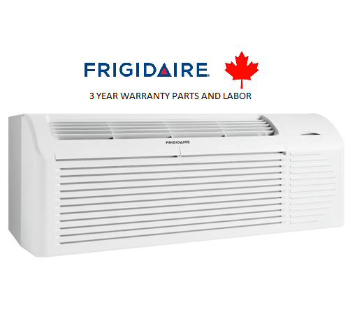 Frigidaire FRP77PTV3R 7,700 btu PTAC unit with Heat Pump and Back-up Electric Heater