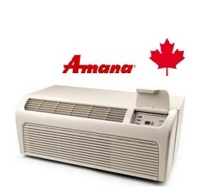 Amana PTH153G25AXXX 15000 btu Cooling PTAC Unit with 14200 btu Heat Pump and optional Digi Smart Sensor